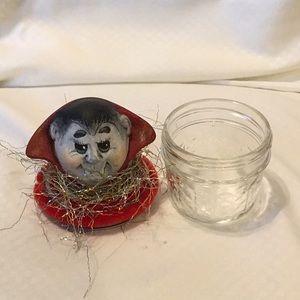 Other - Handmade Ceramic Dracula Candy Jar